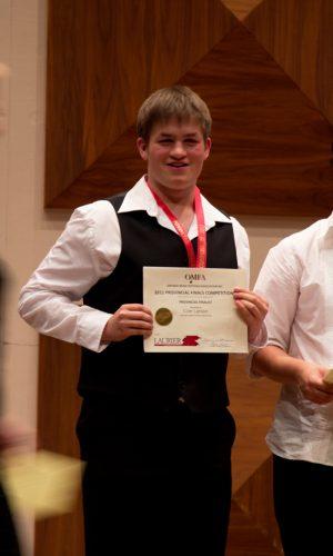 Award Certificate Presentation 20111